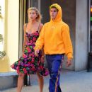 Hailey Baldwin and Justin Bieber – Out and about in New York City