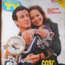 Ornella Muti, Sylvester Stallone - TV Sorrisi e Canzoni Magazine Cover [Italy] (2 December 1990)