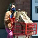 Hilary Duff in Pink Tights – Shopping at Trader Joe's in Studio City