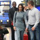 Bella Hadid – Arriving at her hotel in Paris