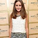 Olivia Palermo: at the Moët & Chandon suite at the U.S. Open in New York