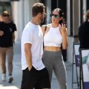 Nikki Bella – out for a lunch in Studio City - 454 x 681