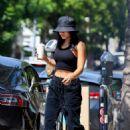Vanessa Hudgens – Stops for a fresh coffee in Los Feliz