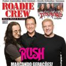 Geddy Lee, Neil Peart, Alex Lifeson - Roadie Crew Magazine Cover [Brazil] (August 2012)