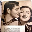 Myrna Loy and Clark Gable - Movie Mirror Magazine Pictorial [United States] (November 1938) - 454 x 605