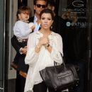 Kourtney Kardashian: lunch at Olive and Figs Restaurant