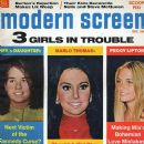 Peggy Lipton, Marlo Thomas - Modern Screen Magazine Cover [United States] (December 1970)