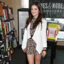 Lucy Hale signed copies of her Seventeen magazine issue, June 4, at the Barnes and Noble in Brentwood