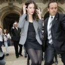 Liv Tyler Attending Stella McCartney Show During Paris Fashion Week
