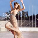 Karolina Kurkova Vogue Magazine June 2006 Pictorial Photo - Greece