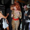 Amber Rose Throws a Halloween Themed Birthday Party at Her House in Los Angeles, California - October 20, 2014 - 454 x 641