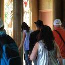 Selena Gomez & Justin Bieber Visit LA Zoo With Justin's Grandparents June 22,2014
