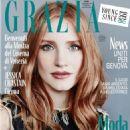 Jessica Chastain for Grazia Magazine (August 2018)