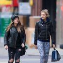 Gigi Hadid Shopping In Soho