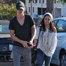 Austin Butler and Vanessa Hudgens grabbed a spot of breakfast, January 12, in Studio City
