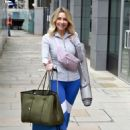 Gemma Merna – Arriving at a Yoga Class in Manchester - 454 x 641