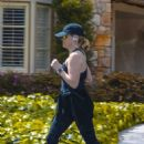 Reese Witherspoon – Looks sporty while jog in Brentwood
