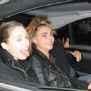January 21st 2013 - Leaving Chanel Fashion Show in Paris - 454 x 314