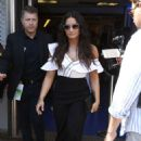 Demi Lovato – Leaves Cannes Lions Festival in Cannes