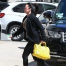 Kyle Richards stops by Barneys New York to do some shopping in Beverly Hills, California on March 31, 2017