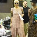Amber Rose and Iggy Azalea at Nail Garden in Hollywood, California - October 13, 2014