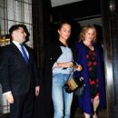 Alicia Vikander Leaving 34 Mayfair restaurant in London - 454 x 663