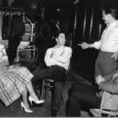 Juliet Prowse, Elvis Presley, Pat Boone and Sonny West