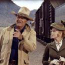 John Wayne and Ann-Margret