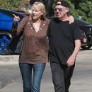Daryl Hannah looked loved up with Neil Young as they headed to a restaurant in Westlake, California, on Tuesday September 9, 2014 - 454 x 634