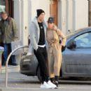 Georgina Rodriguez and Cristiano Ronaldo – Leaving the Gran Madre di Dio church in Turin - 454 x 302