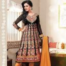 Sonal Chauhan Photo Shoot For An Indian Designer Anarkali Suits - 429 x 564