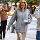 Blake Lively On The Set Of A Woody Allen Film In Nyc