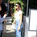 Olivia Culpo with Cara Santana at The Ivy in West Hollywood, October 2016 - 454 x 681