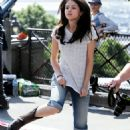 "Selena Gomez - On ""Monte Carlo"" Set In Paris - June 23, 2010"