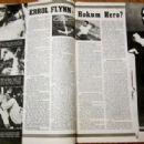 Errol Flynn - Screen Guide Magazine Pictorial [United States] (July 1940) - 454 x 316