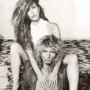 David Coverdale and Tawny Kitaen - 454 x 506