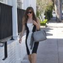 Danielle Panabaker Arriving at the Glamour's Game Changers Event