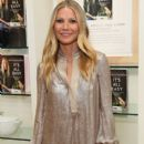 Gwyneth Paltrow signs copies of her book