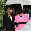 Hailey and Justin Bieber – Enjoying a dinner date at Giorgio Baldi in Santa Monica