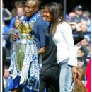 William Gallas and Nadege Gallas
