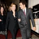 Clive Owen: arriving at The Ivy Club following the London Premiere of Duplicity