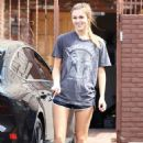Sadie Robertson At Dwts Rehearsal In Los Angeles