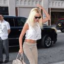 Pamela Anderson Out and About At Soho In New York City