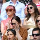 Maisie Williams and Diana Silvers – Wimbledon Tennis Championships 2019 in London - 454 x 336