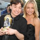 Cameron Diaz and Mike Myers attends The 2007 MTV Movie Awards