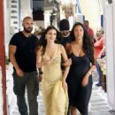 Emily Ratajkowski out in Mykonos