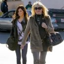 Ashley Tisdale was spotted leaving the DMV's office with her Mom in Los Angeles (February 10)