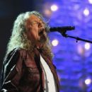 Robert Plant performs onstage at the 13th annual Americana Music Association Honors and Awards Show at the Ryman Auditorium on September 17, 2014 in Nashville, Tennessee