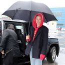 Doutzen Kroes – Arrives at Airport in Toronto - 454 x 681