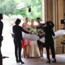 Kristen Bell dons a wedding dress filming 'Like Father' in NYC - 454 x 304